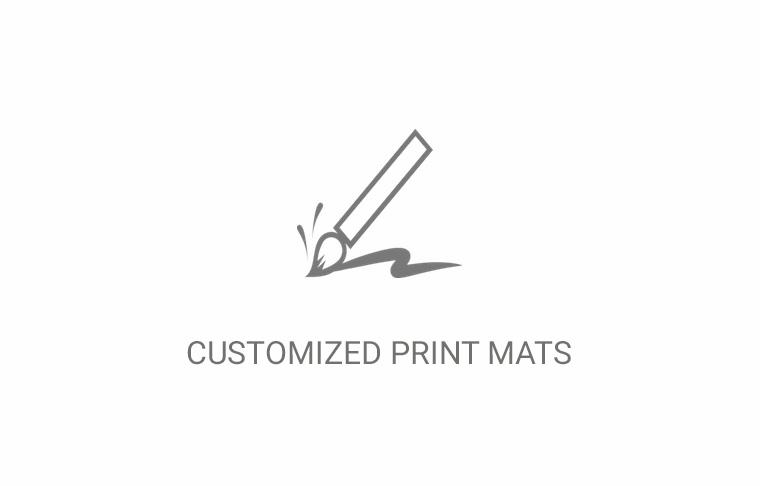 Hapa Services- Customized print mats