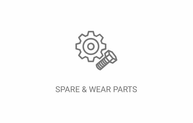 Spare and Wear Parts from Hapa