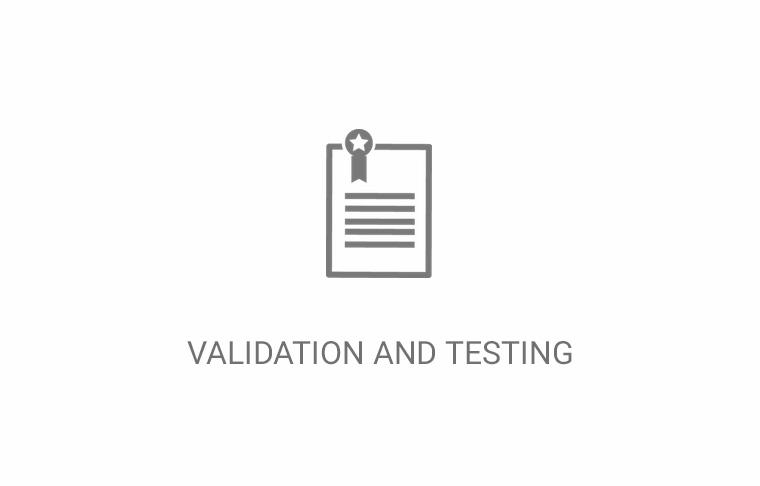 Hapa Services - Validation and testing