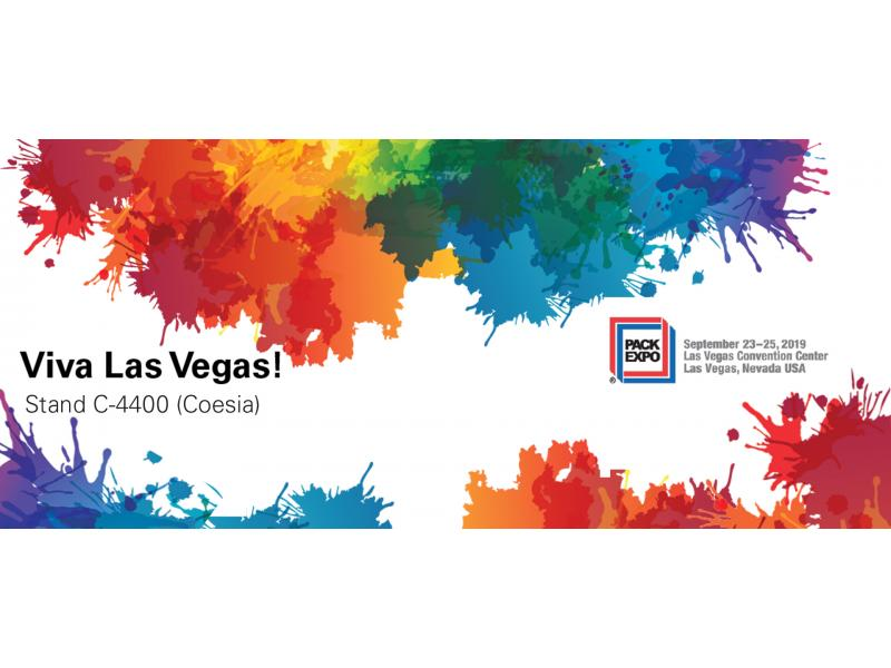 Visit us at PackExpo 2019 in Las Vegas